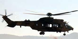 'Helikopter 12 Yıllık ve Bakımlı'