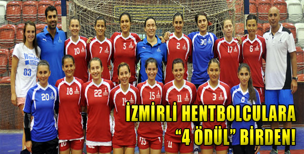 İzmirli Hentbolculara '4 Ödül' Birden