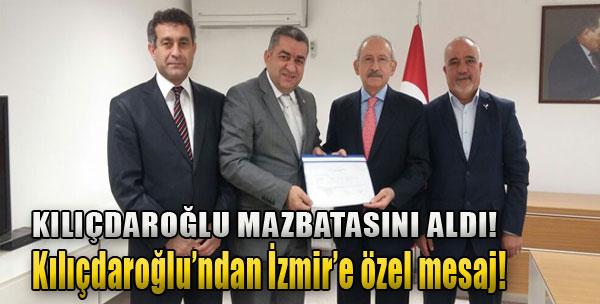 Kılıçdaroğlu'ndan İzmir'e Özel Mesaj