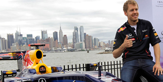 New Jersey'de İlk Turu Vettel Attı