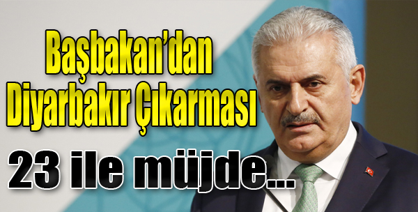 Başbakan'dan Diyarbakır Çıkarması