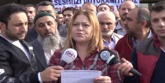 'Caprıce Gold' Mağdurları Eylem Yaptı