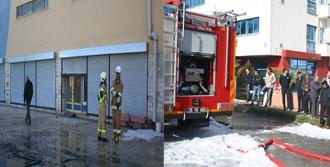 Gaziemir'de Korkutan Yangın