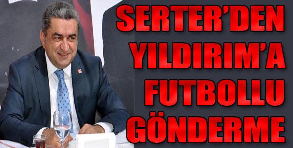 CHP'den Futbollu Gönderme