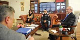 Öğretmenler Kılıçdaroğlu'nu Ziyaret Etti