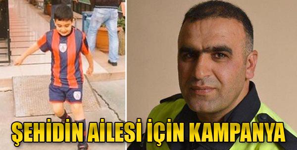 Şehit Polis Fethi Sekin'in Ailesi İçin Kampanya