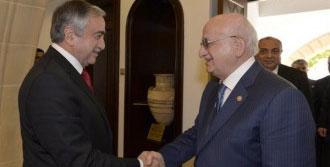 Akıncı Meclis Başkanı Kahraman'ı Kabul Etti