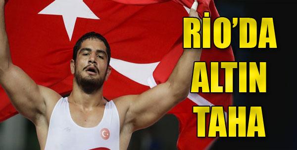 Rio'da İlk Altın Taha Akgül'den Geldi