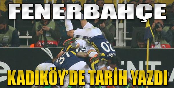 Fenerbahçe 2-1 Manchester United