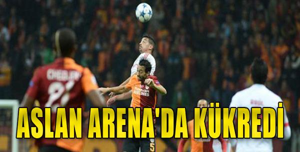Aslan Arena'da Kükredi