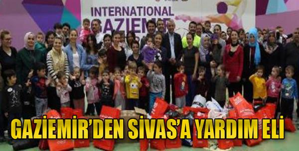 Gaziemir'den Sivas'a Yardım Eli