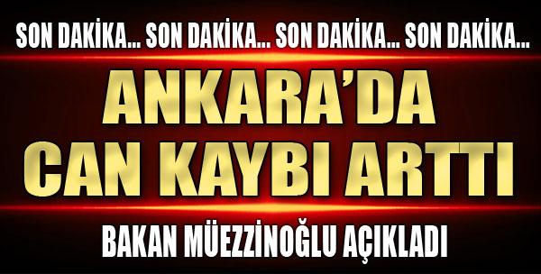 Ankara'dan Acı Haber