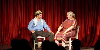 Tiyatroseverler Çeşme'de Buluştu