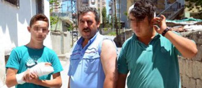 Suriyeli Grup 3 Kişiyi Döverek Hastanelik Etti