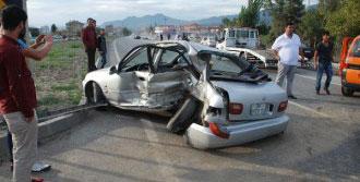 Çorum'da Kaza: 3'ü Çocuk, 7 Yaralı