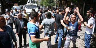 Sur Esnafı HDP'lilere Tepki Gösterdi