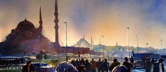 Alioğlu'nun Fırçasından İstanbul