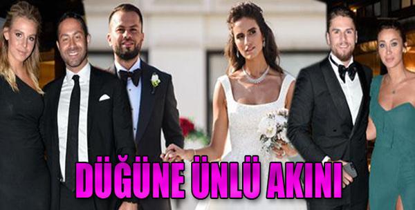 Düğüne Ünlü Akını