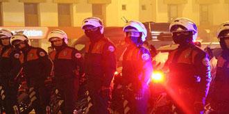 1150 Polis Toplanınca Kent Ayağa Kalktı