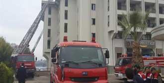 Çeşme'de Otel Yangını: 1 Ölü