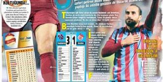 Trabzon Erkan Zengin'i Bağrına Bastı