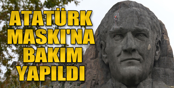 Atatürk Maskı'na Bakım Yapıldı
