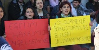 Mersin'de Protesto