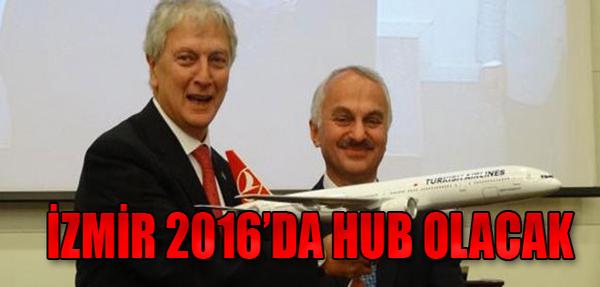 'İzmir Haziran 2016'da Hub Olacak'