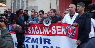 İzmir Sağlık-Sen'de Kriz