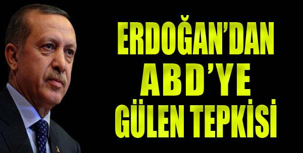ABD'ye Gülen Tepkisi