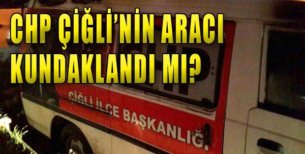 CHP Çiğli'de Kundaklama İddiası