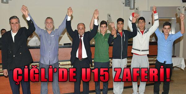 Çiğli'de U15 Zaferi