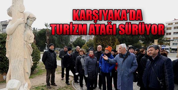 Rehberler Karşıyaka'yı Gezdi