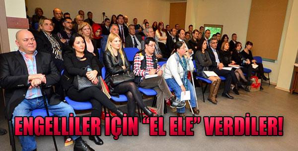 Engelliler için 'El Ele' Verdiler