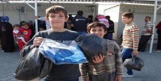 5 Bin 215 Suriyeliye Giyecek Yardımı