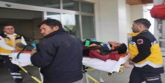 İnşaat İşçisi Ağır Yaralandı