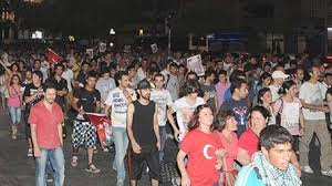 İzmir'de 'Gezi Yürüyüşü'