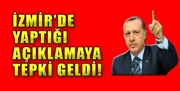 Başbakan Erdoğan'a Sert Tepki!