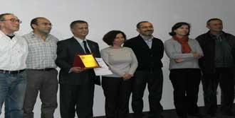 EGEÇEP 2012 Ödülünü Verdi