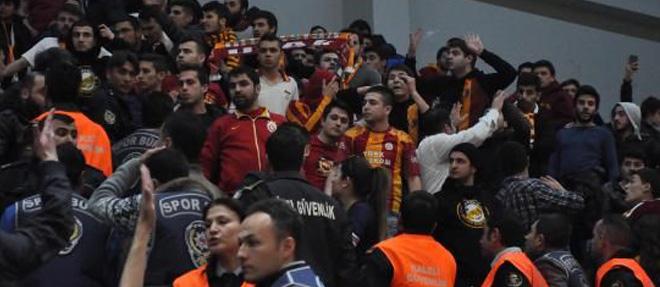 Olaylı Maç Galatasaray'ın