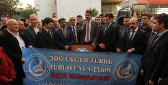 Uygur Türkleri İçin 30 Bin İmza