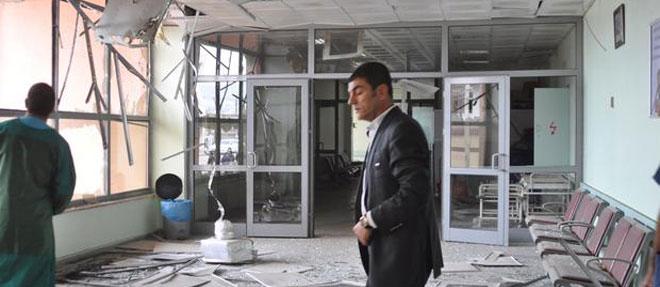 PKK'nın Vurduğu Hastanede Hasar Büyük
