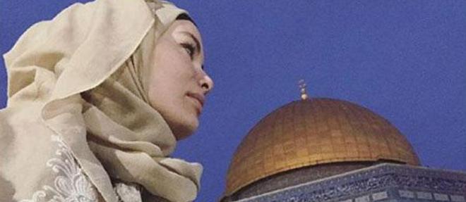 Gamze Özçelik Kudüs'te