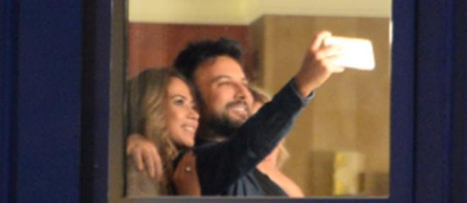 Tarkan'dan Gece Selfie'si