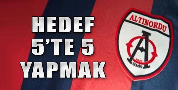 Altınordu, Samsunspor'u Ağırlayacak