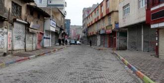 Şırnak'ta Kepenkler Açılmadı