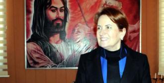 Tunceli'de Akşener'e Yoğun İlgi