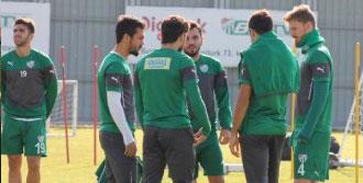 Bursaspor'da Erciyesspor Hazırlıkları Sürüyor