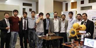 Öğrenciler Su Altı Robotu Geliştirdi