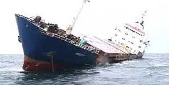 Türk Gemisi Battı: 1 Ölü